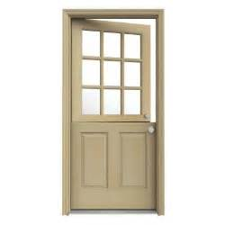 jeld wen 32 in x 80 in 9 lite unfinished dutch hemlock dutch door dutch doors home depot