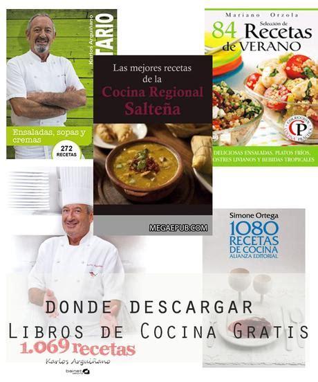 descargar libros cocina donde descargar libros de cocina de forma gratuita paperblog