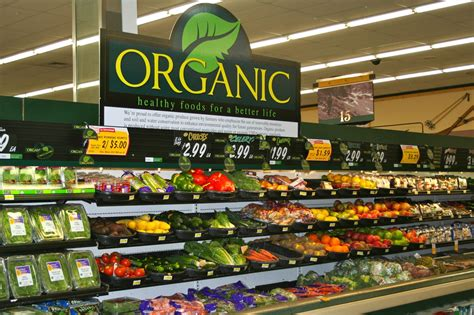 Sections Of A Supermarket by The Organic Industry Is Breaking Growth Records In 2016