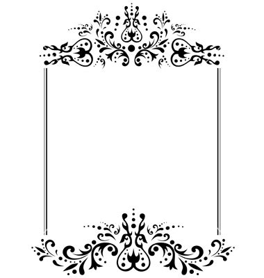 black and white border cards template 11 black and white vintage frame vector images black