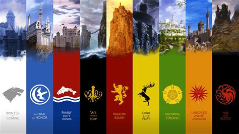 noble houses of westeros game of thrones noble houses wallpaper high definition high quality widescreen