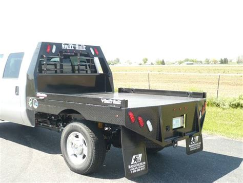 truck bed trailer cer truck beds by swift built trailers and truck beds