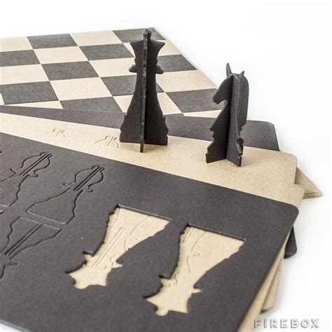 How To Make A Paper Chess Set - awesome papercraft