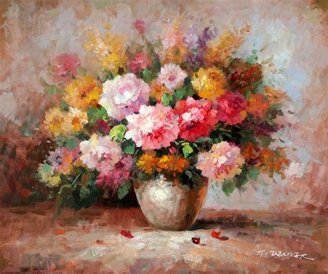 paintings of flowers impressionistic oil paintings of flowers impressionistic