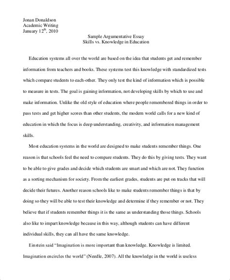 Exles Of Essays About by Sle Essay 15 Documents In Pdf