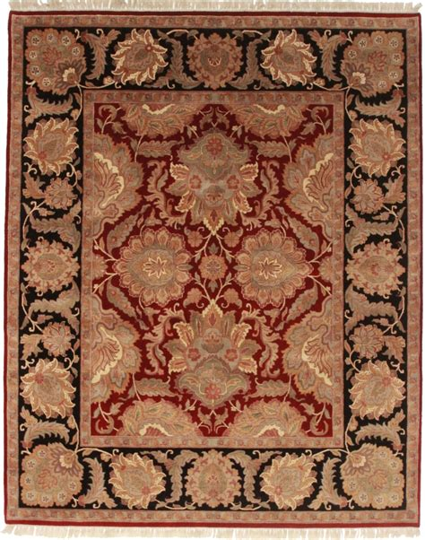8 x 10 rugs 8 x 10 oushak style rug 13195 knotted