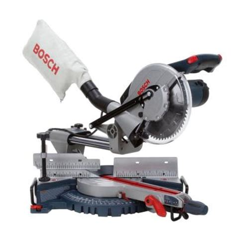 bosch 10 in single bevel slide miter saw with upfront