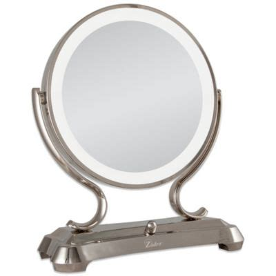 fogless shower mirror with light and magnification buy lighted magnification mirrors from bed bath beyond