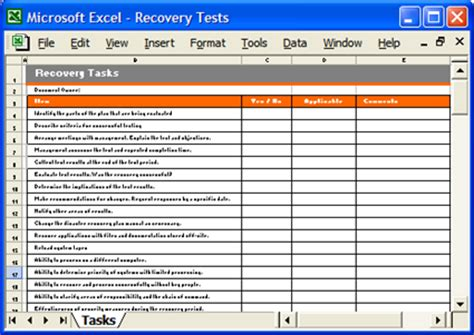exle business continuity plan template business continuity plan 48 pg ms word 12