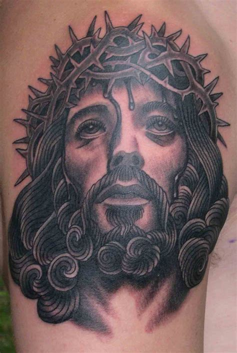 jesus tattoo cross 59 jesus designer shoulder tattoos