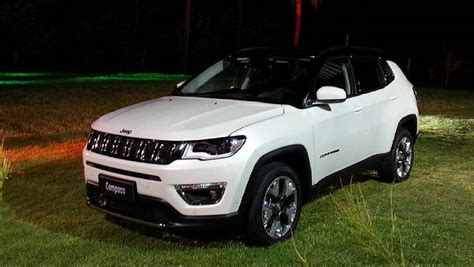 White Jeep Compass 2017 Jeep Compass Launched Price Variants Interior