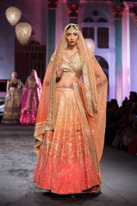 Lehenga Lookbook: 10 Stunning Peach Wedding Lehenga's   My