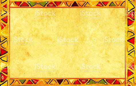 african pattern frame colorful african patterned frame stock photo istock
