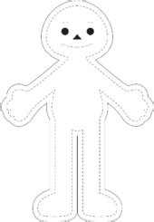 rag doll template 3 ways to make rag dolls wikihow
