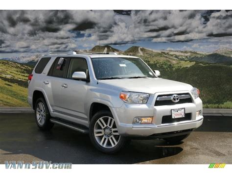 2011 Toyota 4runner Limited 2011 Toyota 4runner Limited 4x4 In Classic Silver Metallic