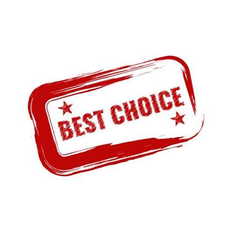 best choise color best choice lable design vector free