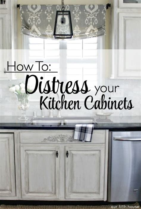 how to distress kitchen cabinets best 20 distressed kitchen cabinets ideas on pinterest