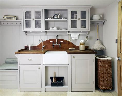 Kitchens For Sale by Ex Display Bespoke Painted Utility Arrangement With