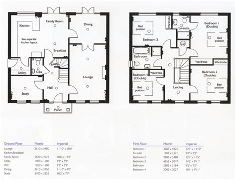 Floor Plans For A 4 Bedroom House by Bianchi Family House Floor Plans Bedroom Ideas New House
