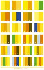 Yellow Color Combination yellow tone color schemes color combinations color