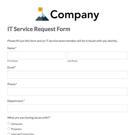 it service request form template donation request forms template anuvrat info