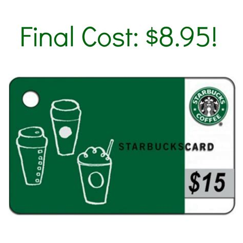 Starbucks Discount Gift Cards - discounted starbucks gift card 10 gift card only 4 90