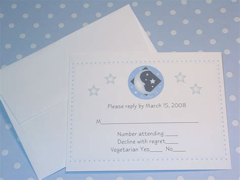 baby shower rsvp cards
