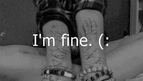 imagenes suicidas i m fine search tumblr