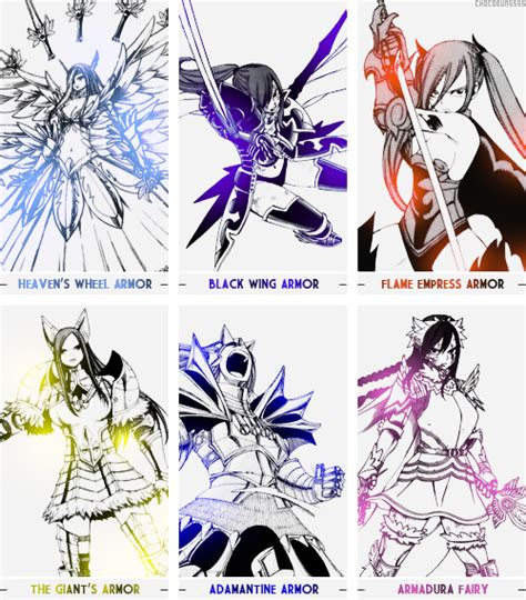 Erza Scarlet Black Wing Armor (Wallpaper) by ng9 on ... Erza Scarlet Armor Types