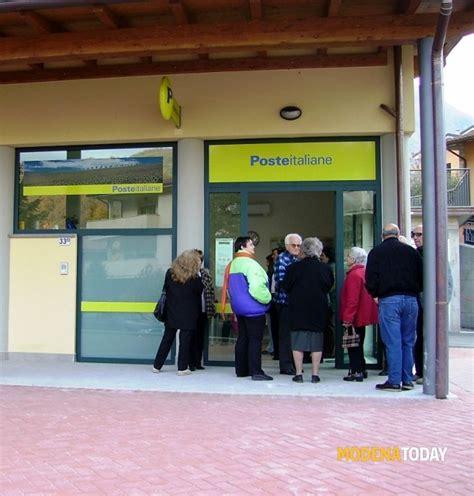 ufficio postale modena uffici verso la chiusura e orari ridotti poste italiane