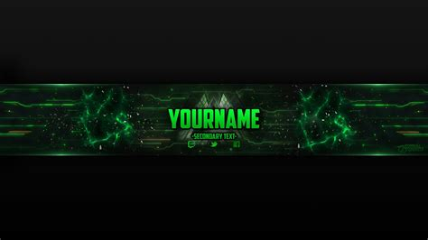 gaming youtube banner template 118 free photoshop download youtube