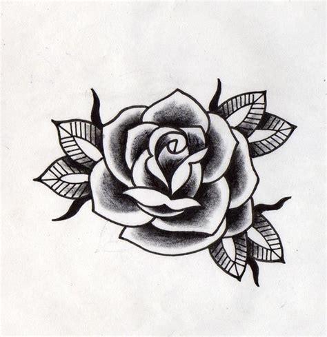 imagenes tatuajes rosas negras rosa negra tradicional rosas negras pinterest rosas