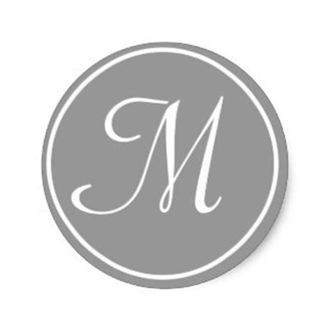 Initial M letter m gifts on zazzle