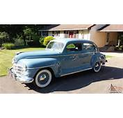 1946 Plymouth Super Deluxe 39k Miles Restored RUST FREE Car Must See