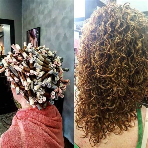 prepping hair for a curly perm 451 best perming images on pinterest curl formers hair