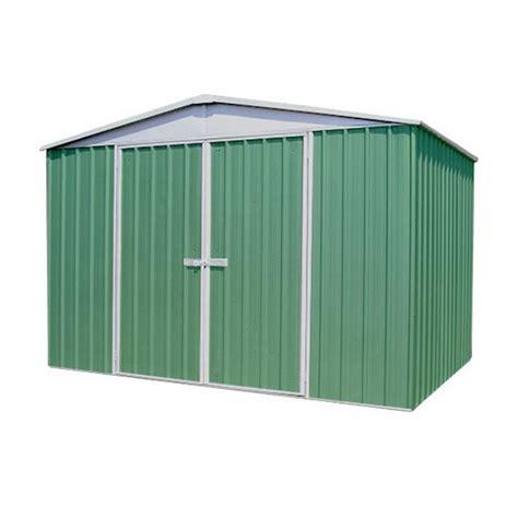 9 10 quot x 12 premier regent eucalyptus metal shed 3m x 3