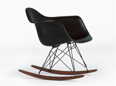 buy the vitra rar eames plastic armchair black at nest co uk