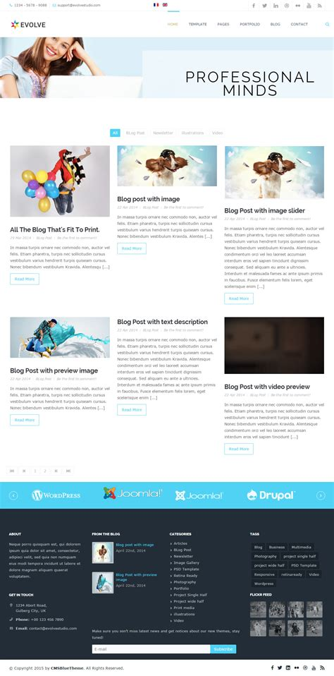 joomla blog layout read more best responsive joomla blog templates 2015 responsive