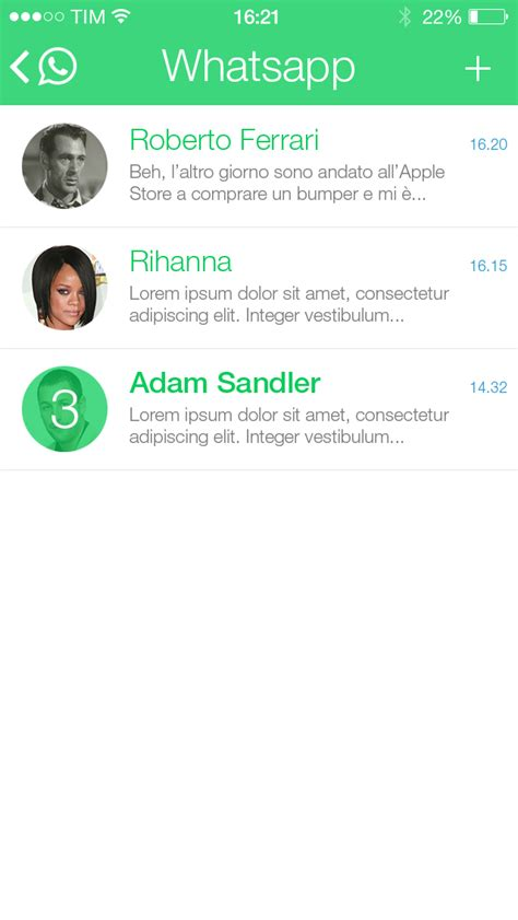 whatsapp themes ios 7 whatsapp for ios 7 on behance