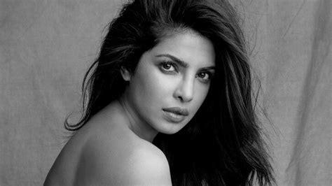 black and white wallpaper of actress priyanka chopra black white wallpaper celebrities hd
