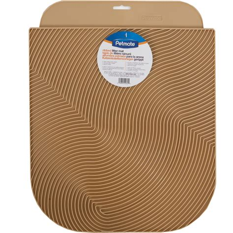 Petmate Litter Mat Reviews by Petmate Molded Rubberized Litter Mat