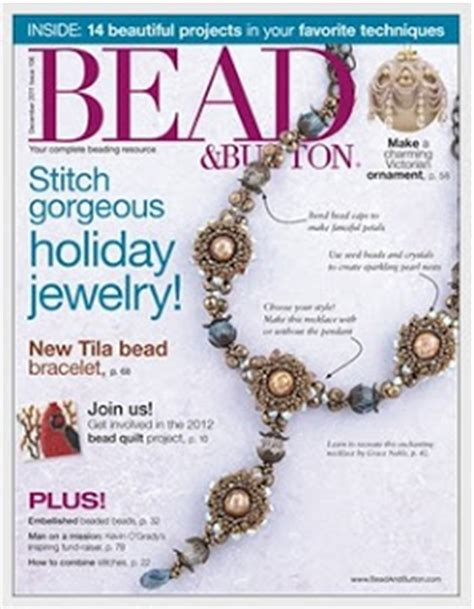 bead and button magazine smadar s treasure new works publications