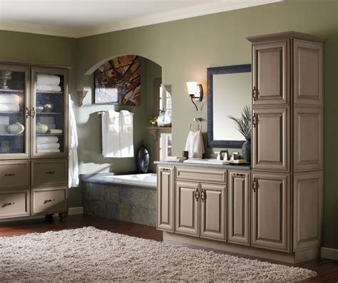 casual bathroom storage cabinets decora cabinetry
