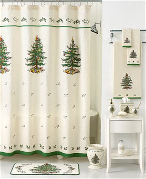 Shower Curtains Macy S by Closeout Spode Bath Accessories Tree Shower
