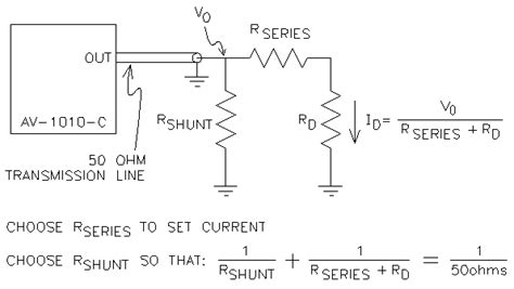 diode constant resistance choosing using pulsed constant current sources and blue diode considerations