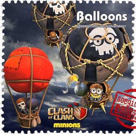 Kaos Coc Baloonion Minion clash of clans balloons minions ᗰᎥηᎥℴη тαмpṧ lego