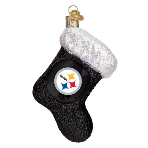 pittsburgh steelers stocking 72608 old world christmas