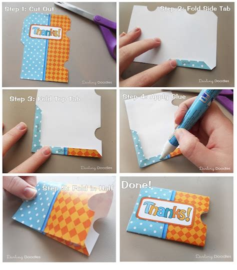 Make A Gift Card Holder - how to make a gift card holder crafts pinterest