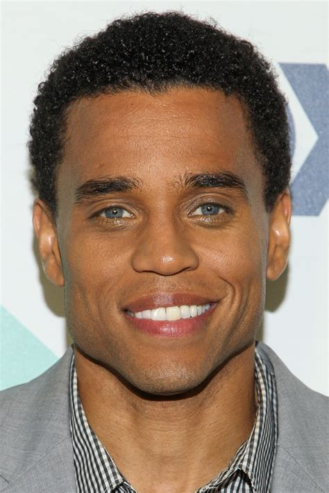 haircuts for black men with weak jawline michael ealy photos photos fox all star party arrivals
