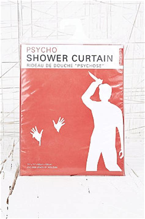 Psycho Shower Curtain by Bath Outfitters